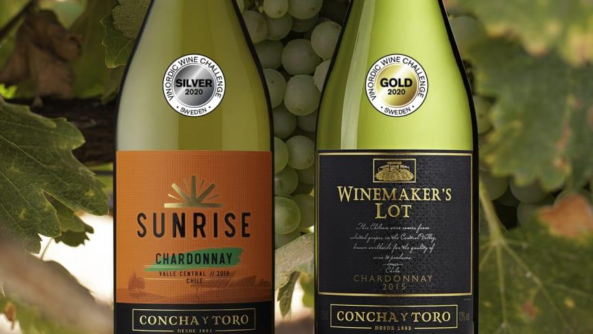 Dubbel vinst i Vinordic Wine Challenge 2020