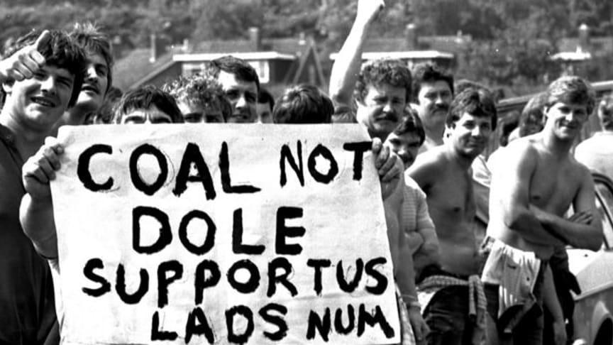 The miners' strike 1984- 85