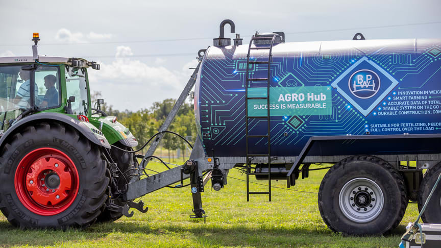 BPW is leading the Agriculture 4.0 trend with AGRO Hub