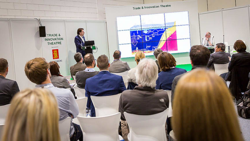 The Keynote Panel sessions are just one highlight of Oceanology International's multi-track conference format (Oceanology International 2016 at London's ExCeL pictured)