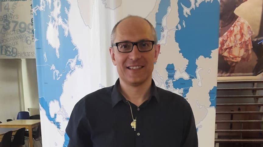 Francois Fille, MdMs Brysselrepresentant. Foto: Läkare i Världen