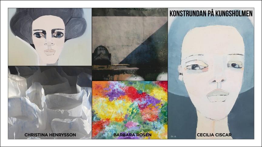 Clarion Hotel Amaranten bjuder in till en helg av inspirerande utställningar under Kungsholmens Konstrunda 21-22 September