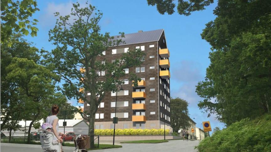 Uthyrningen av nya lägenheter på Klaras Hus startar idag