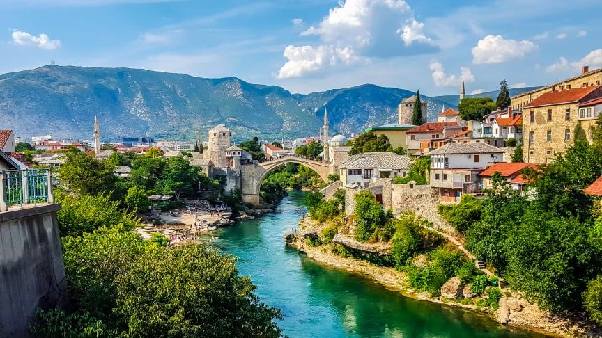 Mostar, Bosnia and Herzegovina. Shutterstock.