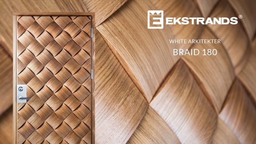 Ytterdörr med flätat utseende - Braid 180