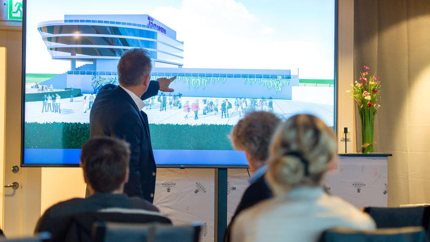Kent Öhlander, vd på Jägersro, ger förutsättningarna för Det Nya Jägersro