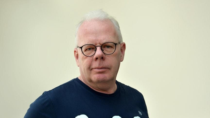 Thomas Bäck, Pedagogiska institutionen, Umeå universitet. Foto: Ulrika Sahlén.