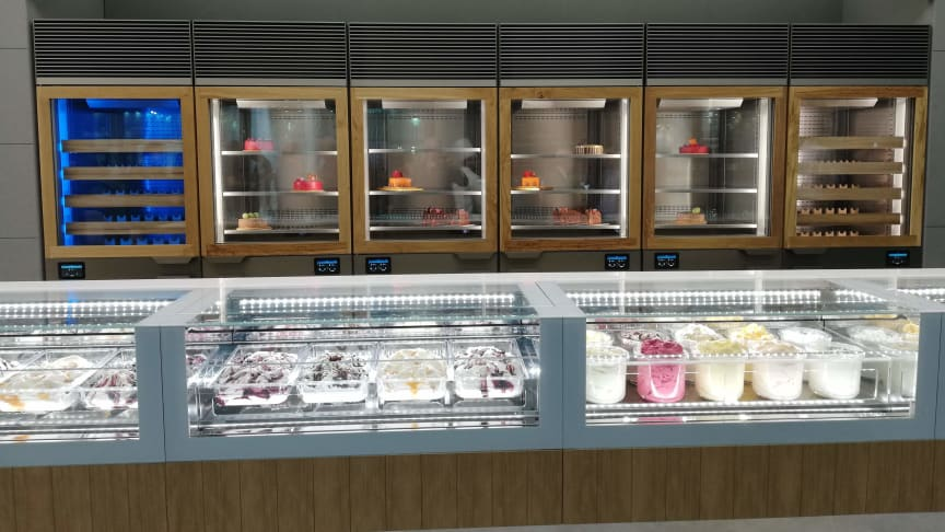 ISA's smart gelato display cabinets will be showcased at Sigep expo in Rimini, Italy