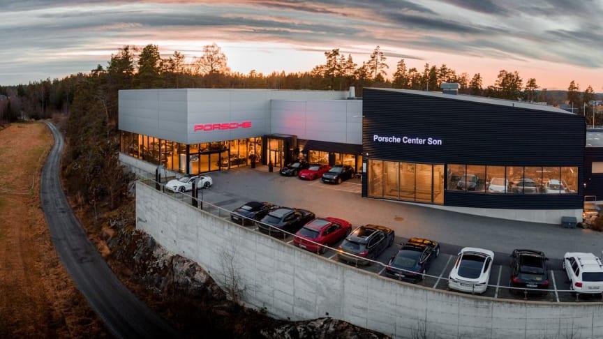 Hedin Performance Cars erhöht seine Beteiligung am Porsche Center Son, Norwegen.