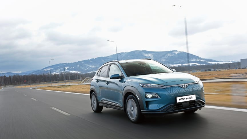 Hyundai Kona Electric. Foto: Hyundai
