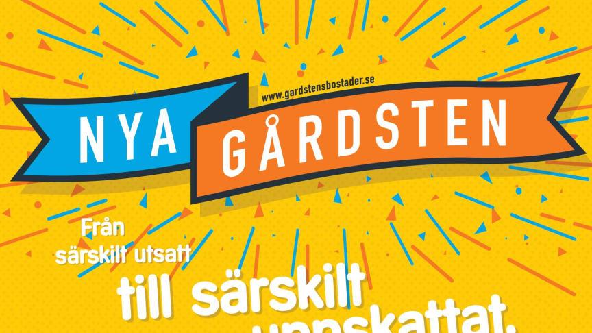 Vi firar i Gårdstens Centrum 4-5/3 kl. 12-18 - Välkomna.