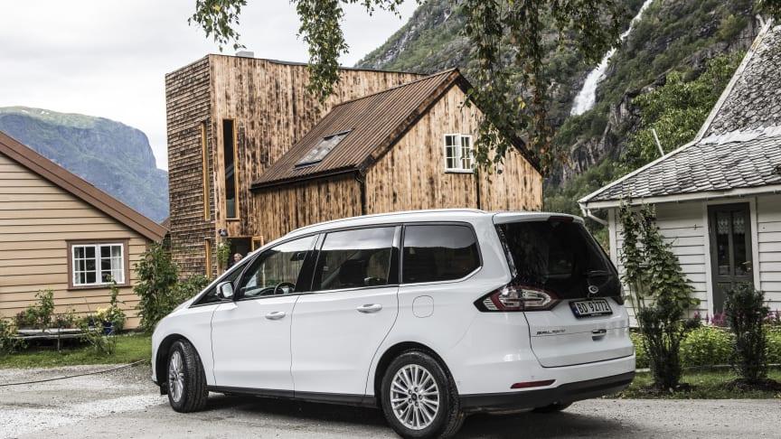 Nye Ford Galaxy varebil – nå også med firehjulstrekk