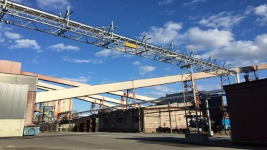Vid Swerim i Luleå finns Europas största anläggning för utvärdering, gasbearbetning och återanvändning av energirika gaser.