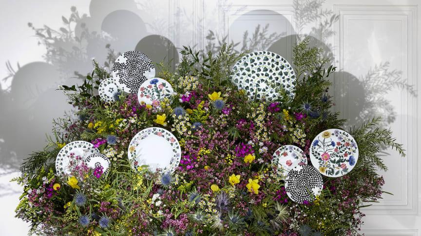 Malerisch, märchenhaft, magisch: die neue Rosenthal Kollektion Magic Garden von Sacha Walckhoff.
