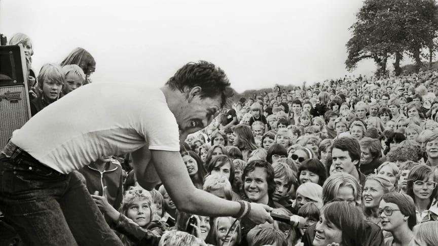 Kal P Dal live på Kronetorps Mölla i Arlöv 1977 - foto: Ulf Kölle