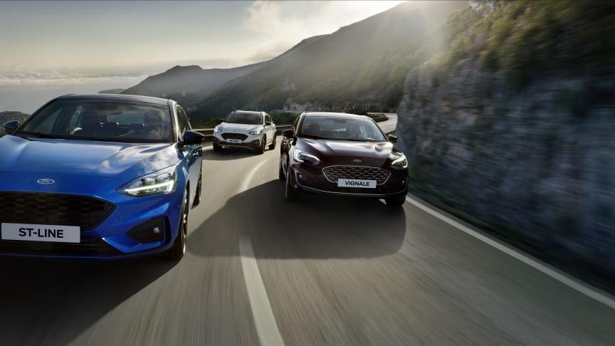 Her er prisene på nye Ford Focus