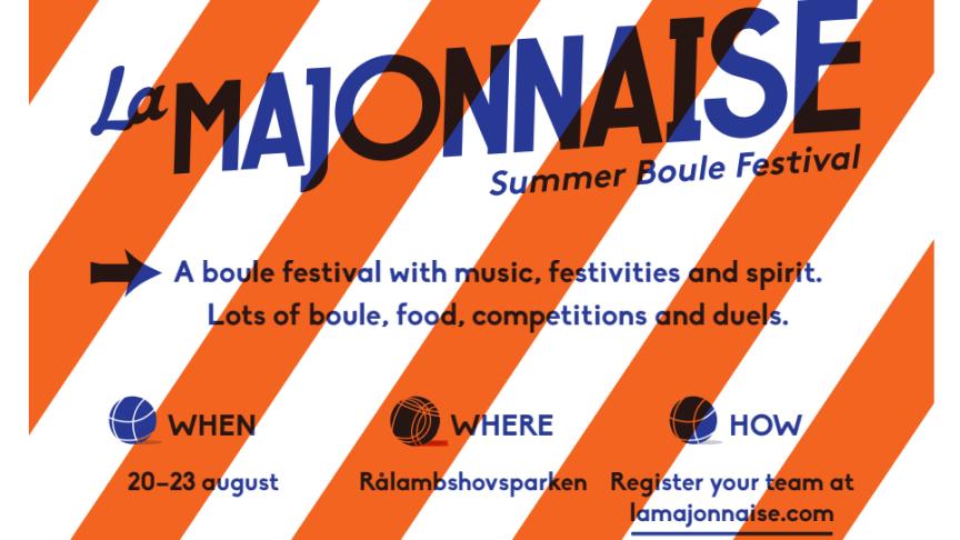 Mer Majonnaise till folket – nu drar Sveriges största öppna bouletävling igång