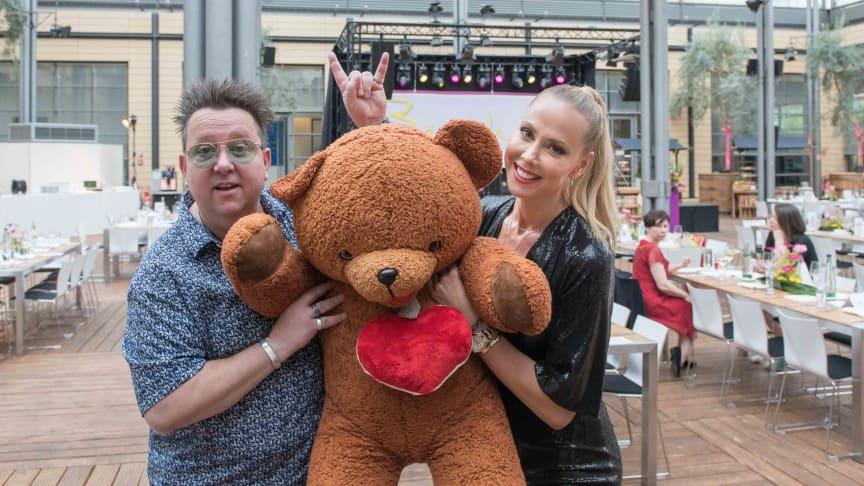 Prinzen-Sänger Sebastian Krumbiegel und Sylvia Walker unterstützen erneut die Bärenherz Sommernacht