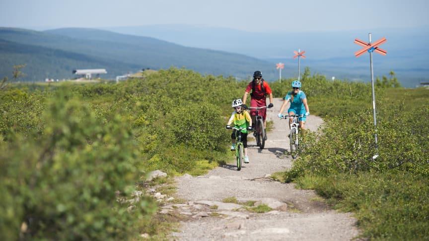 Idag öppnar sommarsäsongen i Sälenfjällen – oändliga friluftsmöjligheter och gott om utrymme