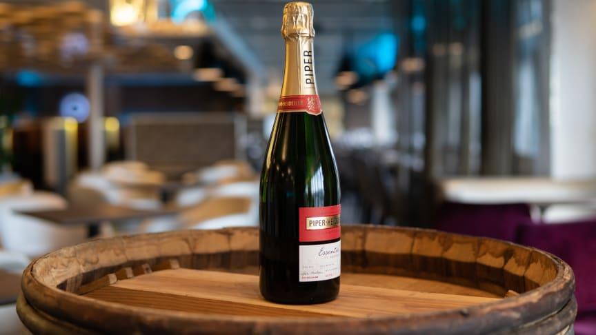Piper-Heidsieck utvecklar en egen champagne för Viking Line