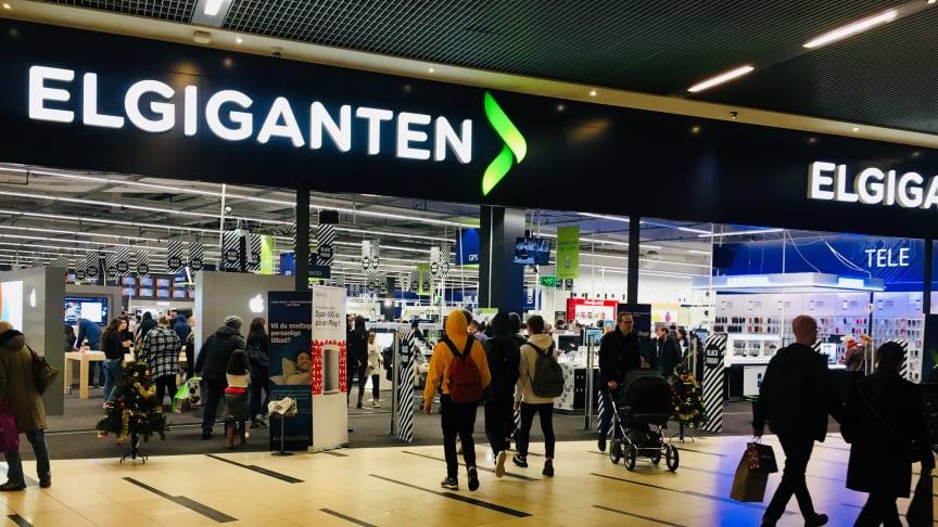 Black Friday er i fuld gang i Elgigantens 37 butikker. Her er det butikken i Fields i København.