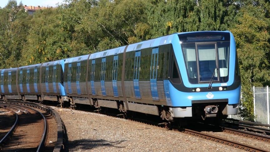 SL:s tunnelbanetåg