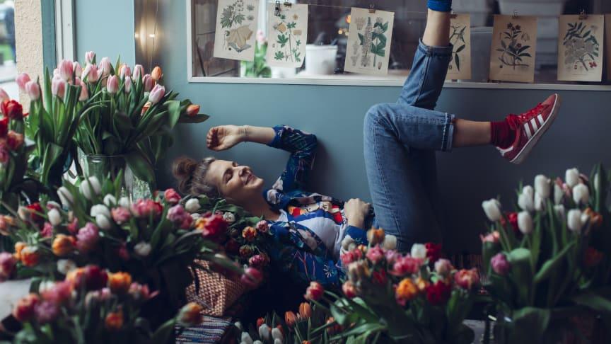 Kom och prata tulpaner med My Feldt och Blomsterfrämjandet
