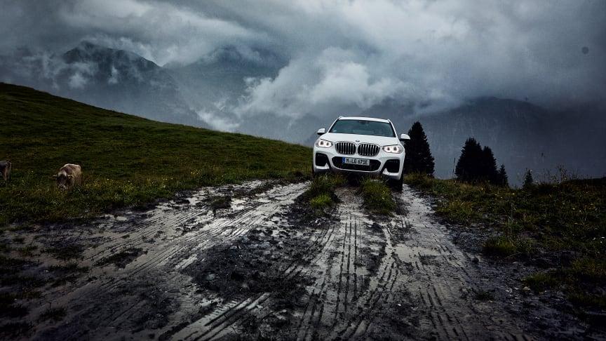 Ladattava hybridi täydentää BMW X3-mallistoa