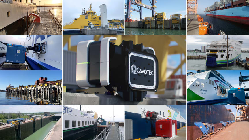 Cavotec brings product-as-a-service to the maritime industry with state-of-the-art automated mooring as a subscription offering