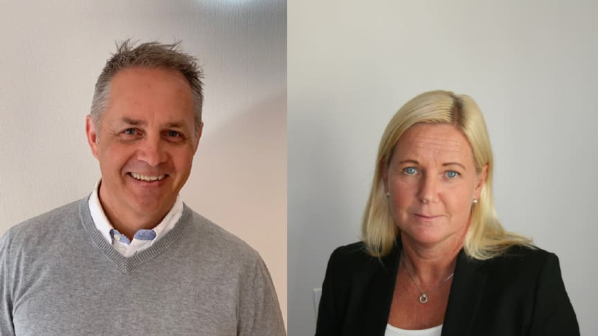 SBS har rekryterat Jonas Hallström som Fastighetsförvaltare för region Syd och Kristina Brunell Andersson som Ekonomi- och administrativ chef.