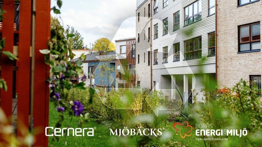 Sortera mera hemma i Borås - nytt insamlingssystem i Trädgårdsstaden Hestra med kvartersnära insamling