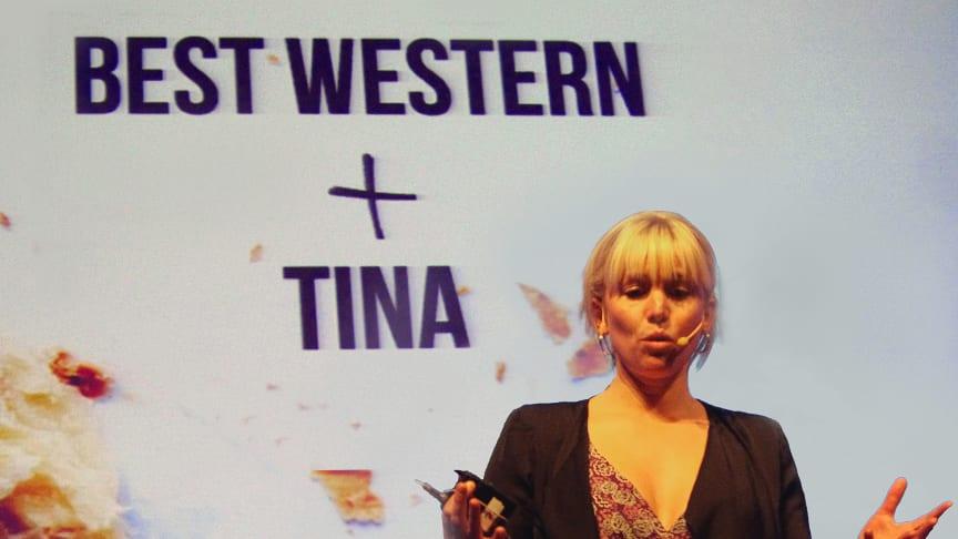 Tina Nordström och Best Western Hotels tar fram nytt frukostkoncept