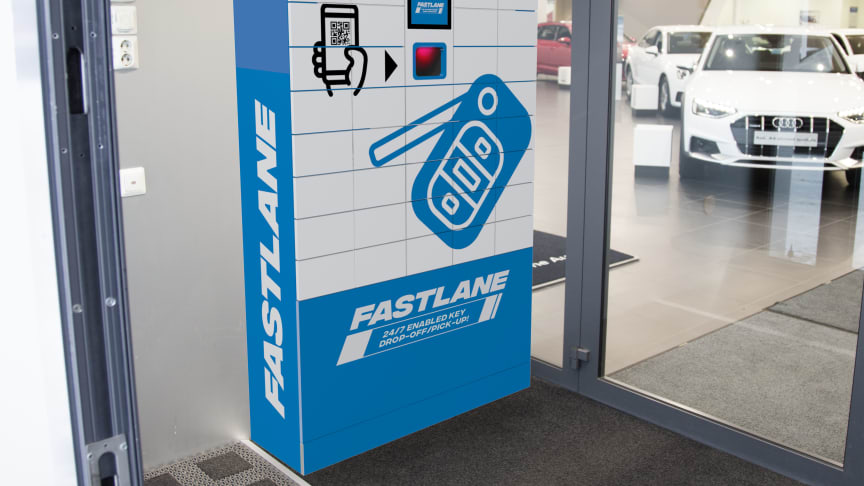 DAS Expert key drop-off/pick-up automat