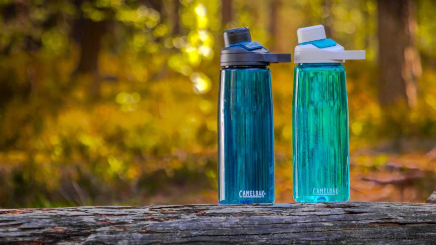 CamelBak Chute® Mag on helposti puhdistettava ja tyylikäs juomapullo, joka soveltuu moneen käyttöön: työpöydälle, liikkuvaan työpisteeseen, kaupungilla ja luonnossa liikkumiseen.
