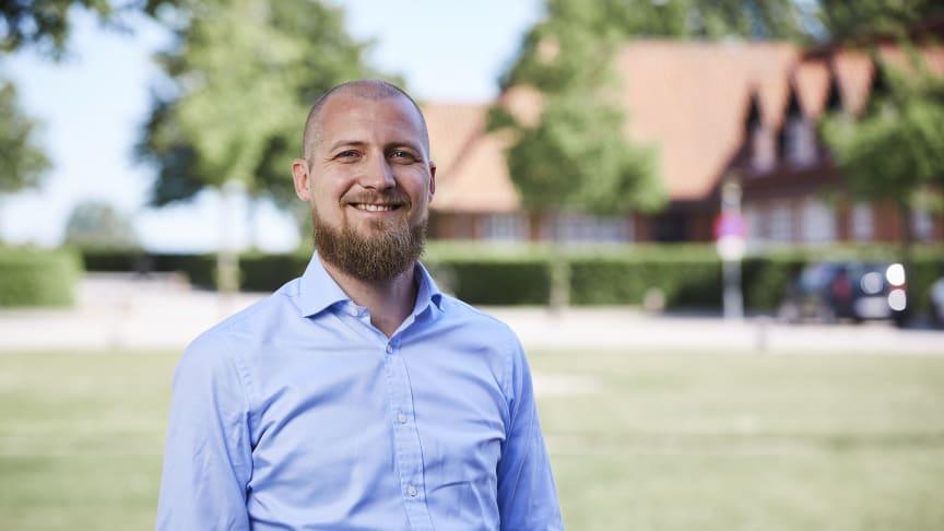Jacob Løndorf er 36 år og tiltræder d. 1. juni som AG Gruppens nye økonomidirektør