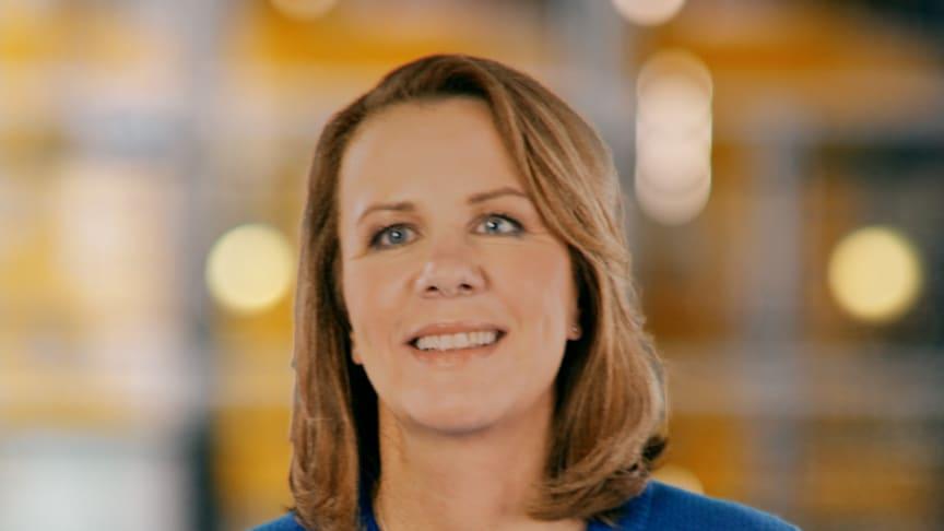 Marika Auramo, administrerende direktør for SAP Norden og Baltikum