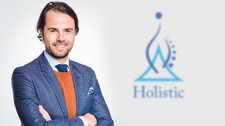 Peter Hencz, ny VD på Holistic från 1 januari 2017