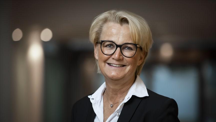 Anette Willumsen, regionsdirektør for Intrum i Nord-Europa, Lindorffs morselskap