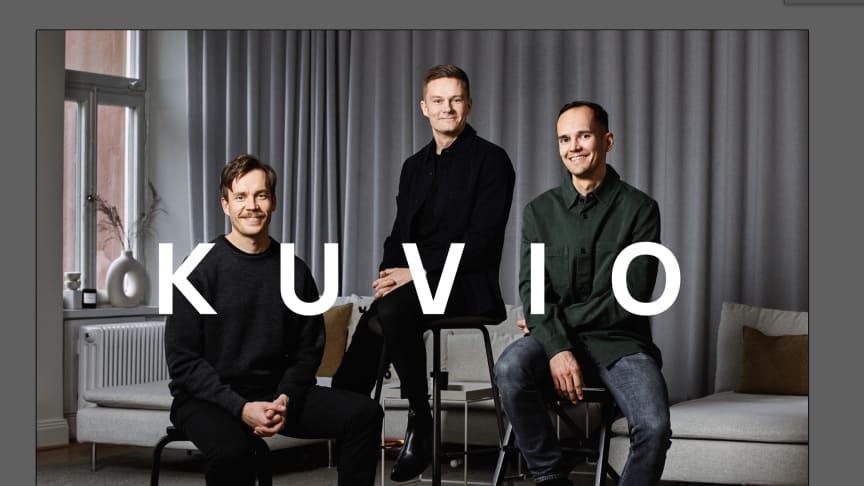 Henry Mäkelä, Magnus Dahlquist och Patrik Segersven – medgrundarna till Bluebird Media