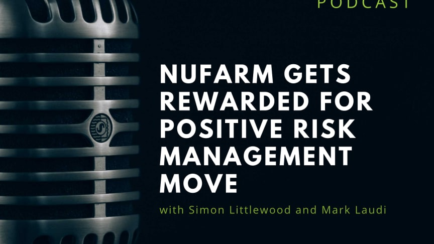 RIABU's Mark Laudi and Simon Littlewood discuss what Nufarm's move means ahead of recession worries.