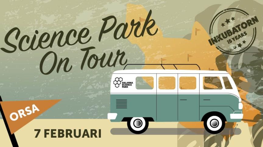 Orsa nästa stopp 7 februari på Dalarna Science Parks turné