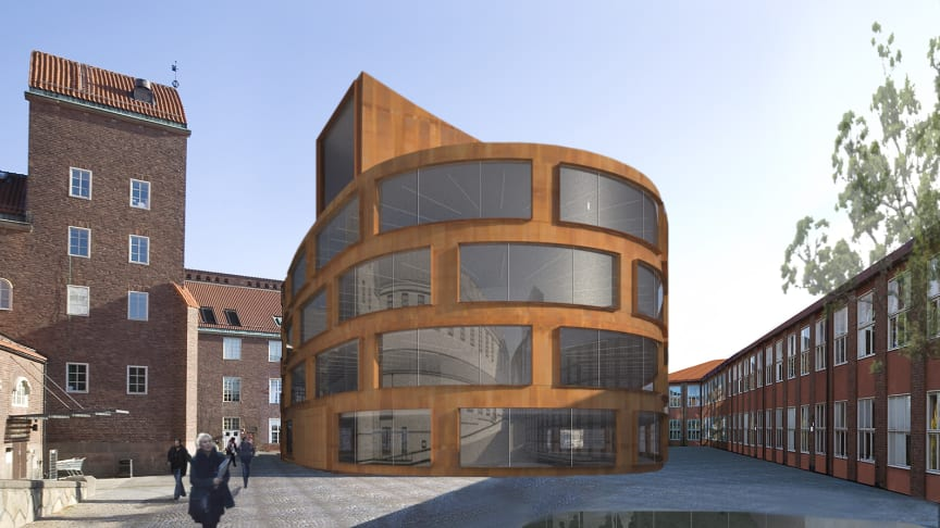 Nu startar bygget av den nya arkitekturskolan i Stockholm