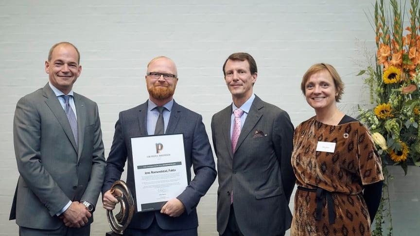 Tidligere vinder af CSR People Æresprisen, Jens Romundstad taler til konference