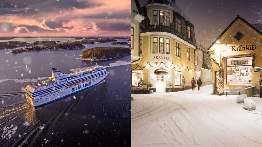 Tallink Silja lanserar vinteravgångar till Visby
