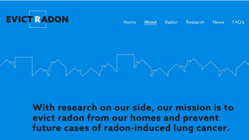 Varje dag beräknas en invånare i provinsen Alberta diagnosticeras med lungcancer orsakad av radon.