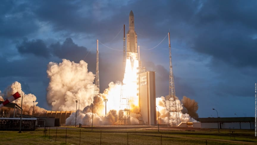 Crédit photo : Arianespace