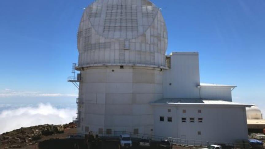 The site of the DKIST Telescope, Haleakala Mountain in Maui, Hawaii