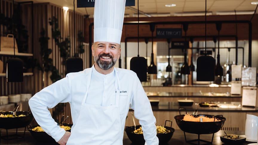 Krister Dahl, ny Culinary Director på Compass Group Sverige.