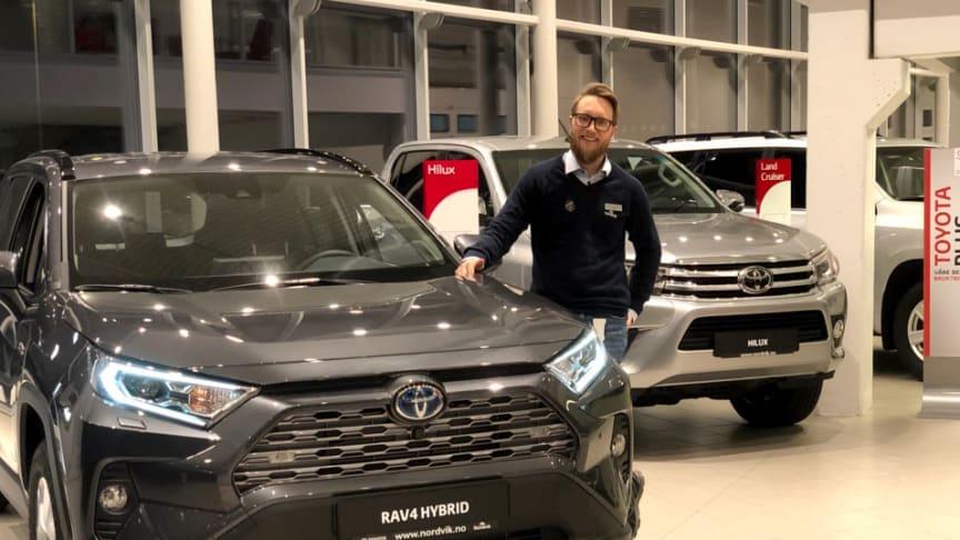 Toyota ble salgsvinner i Mo i Rana