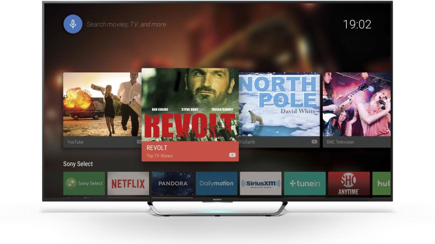 Dans les starting blocks : Sony confirme les prix et dates de commercialisation de ses nouveaux téléviseurs Android